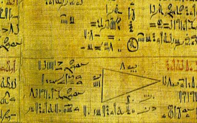 Cuáles son los números egipcios