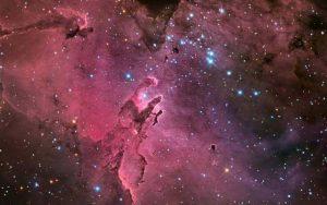Cómo es la nebulosa águila