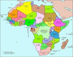 El verdadero tamaño del mapa de áfrica