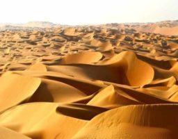 Cómo se forman los desiertos
