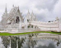 El sorprendente Templo Blanco de Tailandia