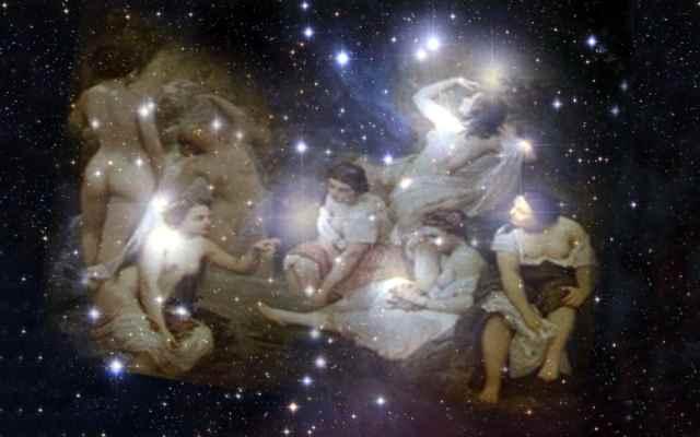 Las pléyades y su constelación