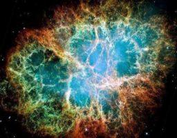 Cómo es la nebulosa cangrejo