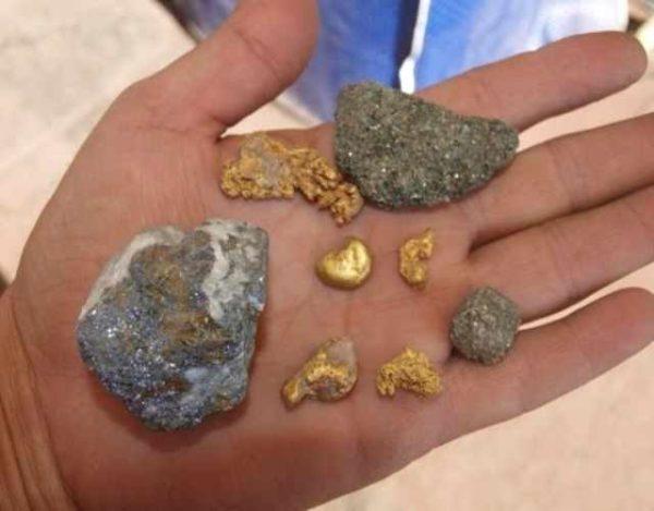 Cómo se formó el oro terrestre