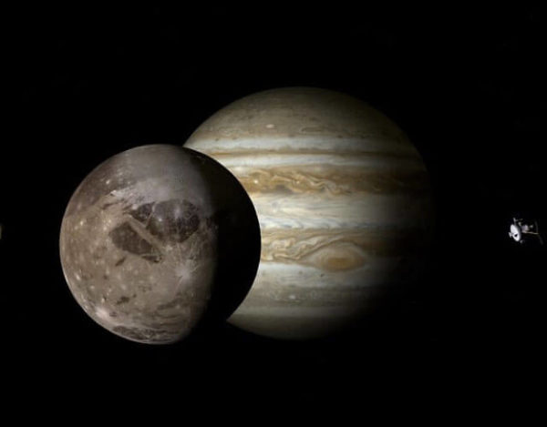 satélite más grande de Júpiter