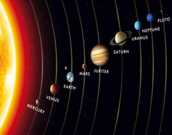 cuerpos celestes del Universo