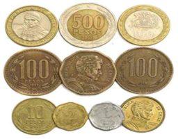 Curiosidades sobre las monedas chilenas