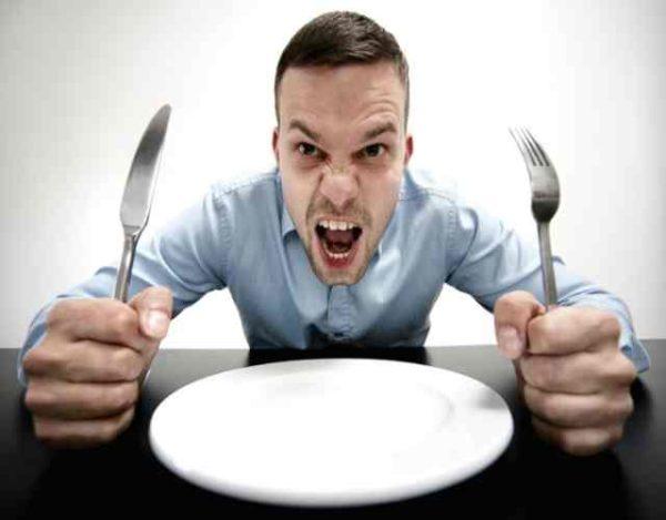 Por qué el hambre nos pone de mal humor
