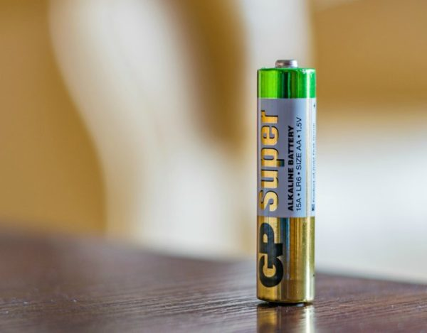 batería de pilas