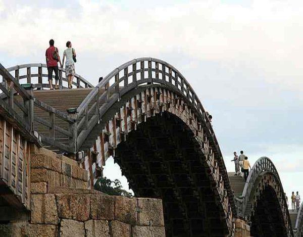 Los 5 puentes de madera más importantes del mundo