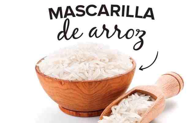 Crema poderosa de arroz antiedad y blanqueadora echa en casa