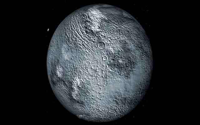 El planeta enano Eris tiene el mismo tamaño que Plutón