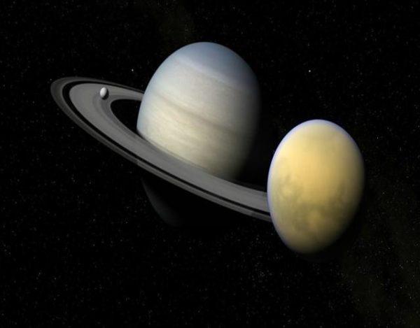 satélite más grande de saturno