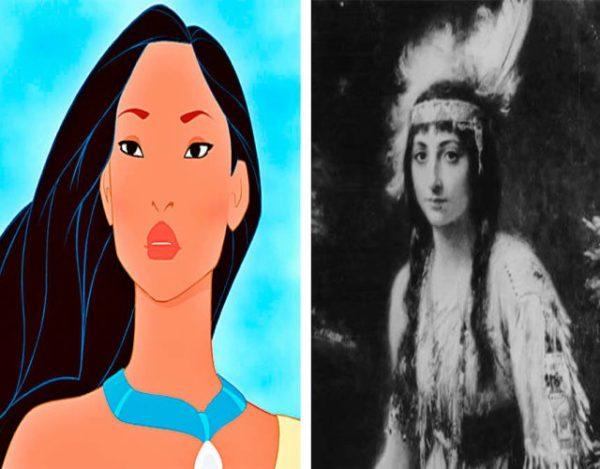 historia de Pocahontas