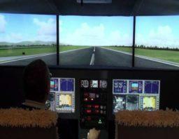 Cómo funciona un simulador de vuelos