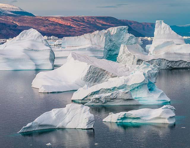 lluvia en Groenlandia